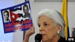 Sylvia Iriondo denunció la represión del gobernante Raúl Castro