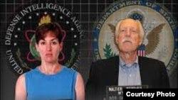 Ana Belén Montes y Walter Kendall Myers, espías del gobierno de Cuba infiltrados en el Pentágono y el Departamento de Estado.