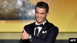 Cristiano Ronaldo, en la cima del fútbol mundial.