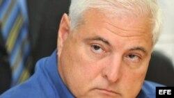 El candidato presidencial por el partido Cambio Democrático, Ricardo Martinelli