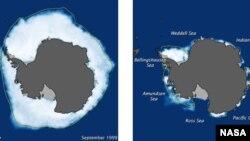 La investigación se realizó entre 2010 y 2012 con imágenes del hielo en 3D de alta resolución en la Ántártica.