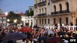 Encuentro del Papa con los jóvenes cubanos.