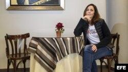 Mariela Castro en entrevista con EFE.