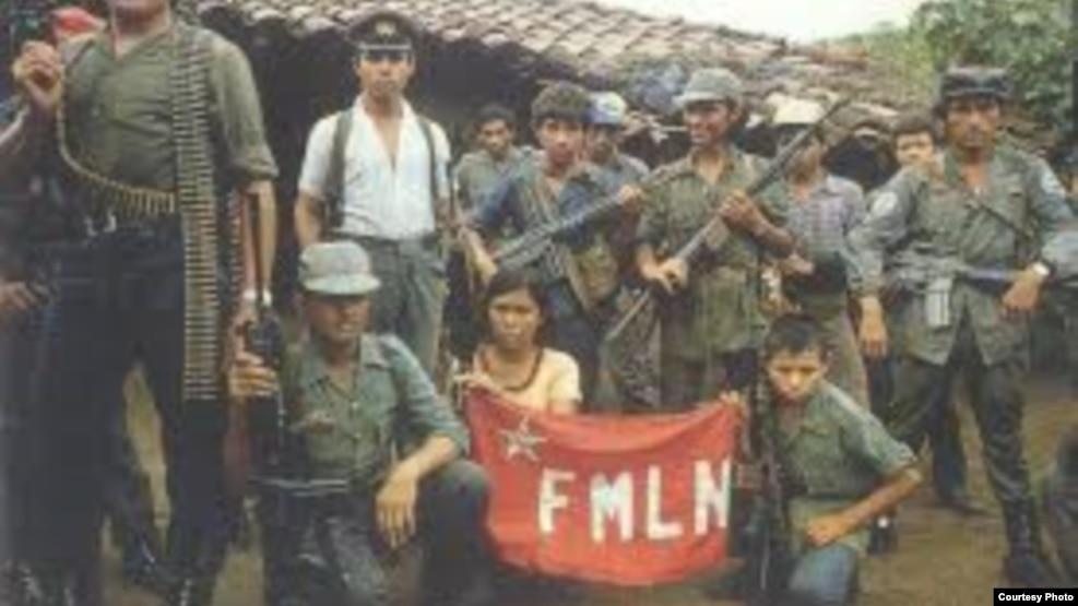 Miembros del FMLN