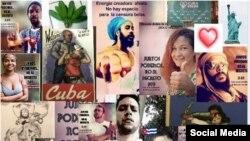 """Artistas cubanos se unen contra el Decreto ley 349, y contra """"todos los artículos que censuran el arte en Cuba""""."""