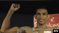 El boxeador cubano Richard Abril, en esta imagen de archivo.