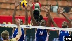 Equipo Cuba de Voleibol.