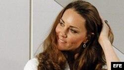 La duquesa de Cambridge, esposa del príncipe Guillermo de Inglaterra.