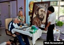Imagen de archivo de la visita que Evo Morales hizo a Fidel Castro en agosto de 2015.