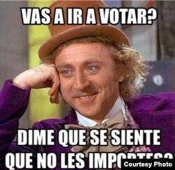 Los memes sobre las elecciones venezolanas circulan desde hace meses en redes sociales.