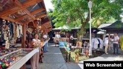 Mercado de cuentapropistas en Varadero