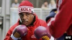 El boxeador cubano Odlanier Solís. EFE/ROLF VENNENBERND