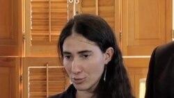 Yoani Sánchez pide que no se tema correr riesgos