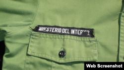 Uniforme del Ministerio del Interior de Cuba