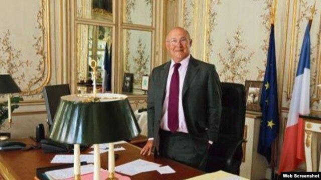 Michel Sapin, ministro de Finanzas de Francia