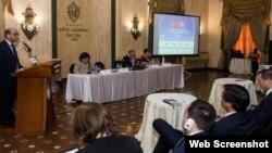 Representacion de empresarios de Turquía de visita en Cuba.