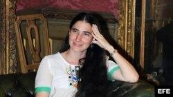 """Yoani Sánchez, autora del blog """"Generación Y"""", participa en la presentación de la versión italiana de su libro """"En espera de la primavera"""""""