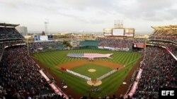 Estadio de béisbol de Anaheim, en California, EEUU.