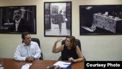 Gustavo Machín va por Cuba a conferencia de seguridad