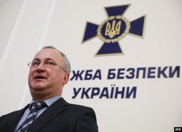 EL jefe del Servicio de Seguridad de Ucrania (SBU, antiguo KGB), Vasiliy Hrytsak.