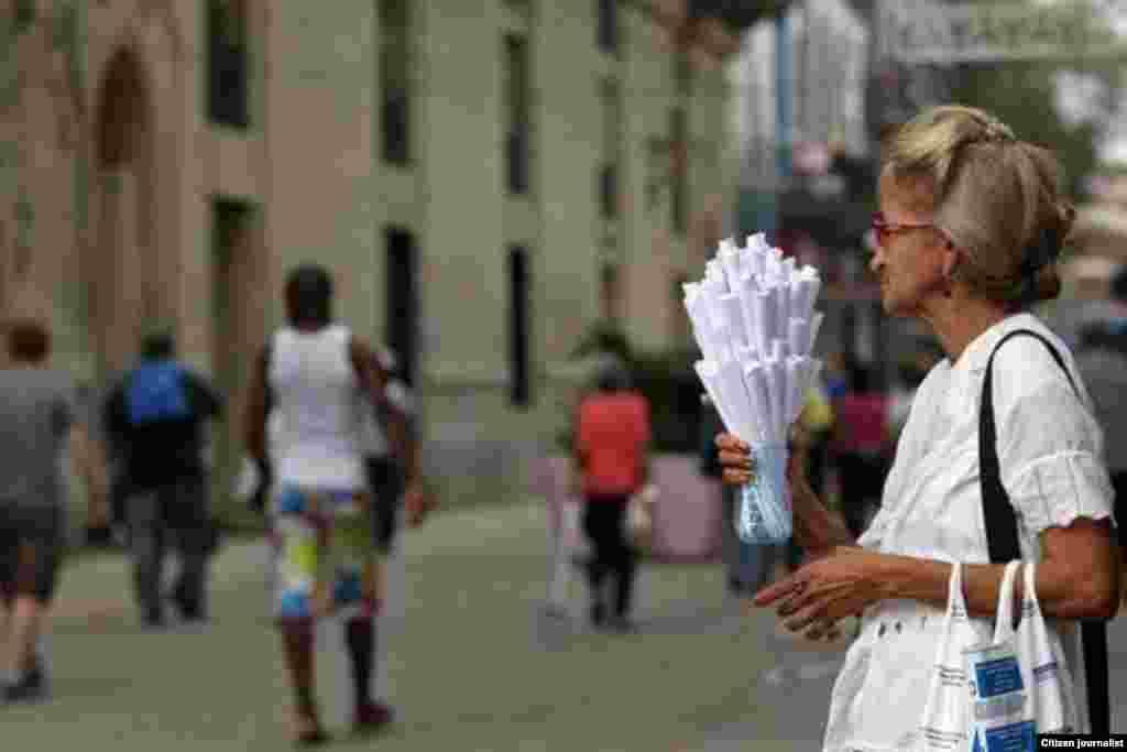 Ancianos en Cuba