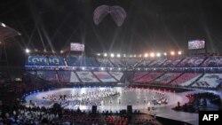 Inauguración de los juegos Paralímpicos de Pyongyang.