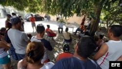 Migrantes cubanos en Panamá. (Foto: Archivo)