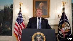 El presidente, Donald Trump.
