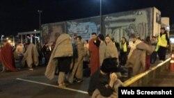 Residentes de Wellington salieron a las calles tras el sismo de magnitud 7.8.