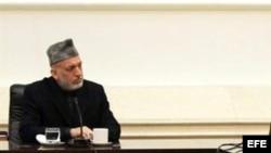 Fotografía de archivo de Hamid Karzai.