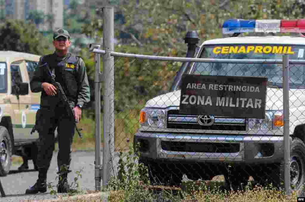 La Guardia Nacional venezolana