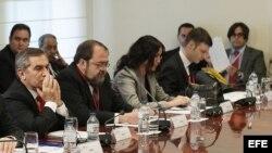 Reunión preparatoria en La Moncloa