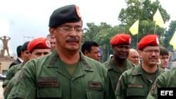 Foto de archivo. Militares venezolanos.