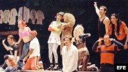 """El musical """"Rent"""", un espectáculo que ha triunfado en Broadway, Londres y otros muchos lugares del mundo, llega ahora a Cuba."""