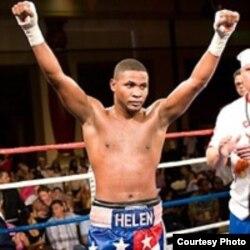El boxeador cubano Yudel Jhonson