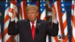 Convención Republicana: Trump promete cambiar curso de EEUU