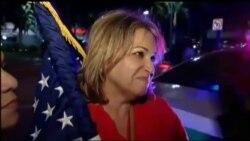 Comunidad latina de Miami se une a cubanos en algarabía por muerte de Castro