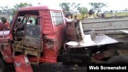 El accidente que costó la vida a tres personas se produjo al amanecer de este viernes.