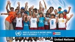 Portada del Convenio de cooperación con Cuba
