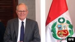 "Kuczynski afirma que toma ""con mucha modestia"" su virtual triunfo en Perú."