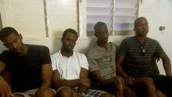 Jugadores de baloncesto que se fugaron de Cuba hablan de su status migratorio
