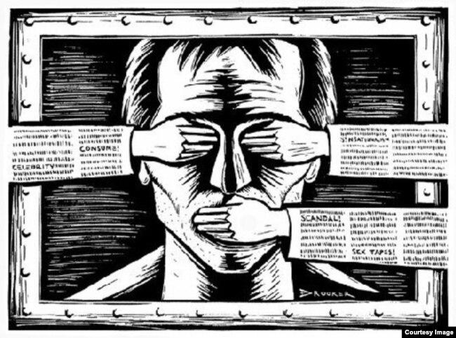 La censura es como el diablo, no existe.