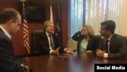 El secretario general de la Organización de Estados Americanos (OEA), Luis Almagro. / Foto tomada de su Twitter