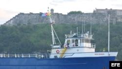 Buque Ana Cecilia parte a Cuba de nuevo