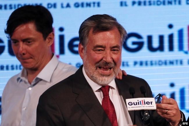 Guillier reconoce derrota y felicita a Piñera por triunfo macizo e impecable.
