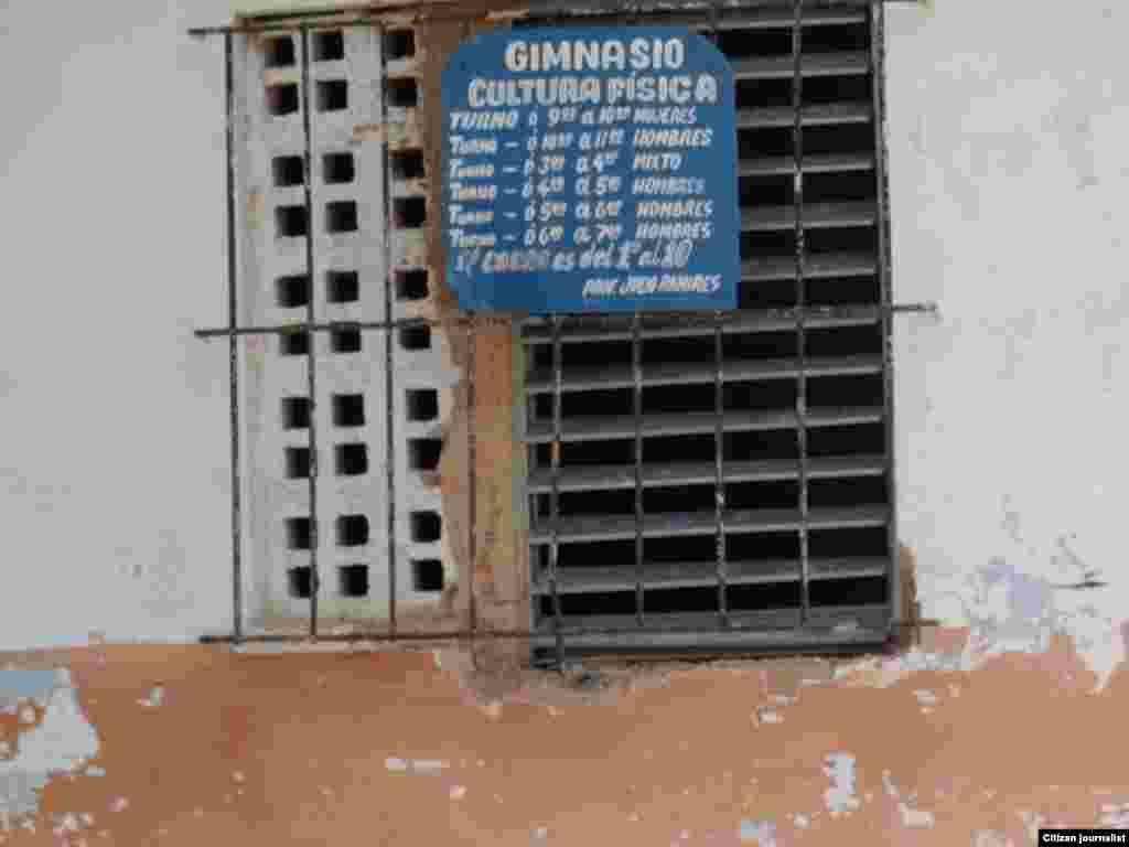 Reporta Cuba. Instalaciones deportivas.