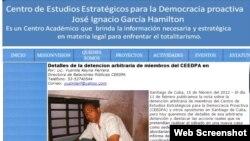 Actividades del Centro de Estudios Estratégicos en Santiago de Cuba