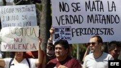 Foto archivo, Día Internacional para Poner Fin a la Impunidad de los Crímenes contra Periodistas
