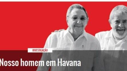 Lula y Raúl Castro