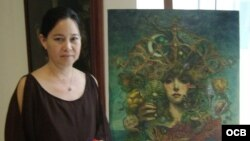 1800 Online con la artista de la plástica cubana, Alicia de la Campa Pak
